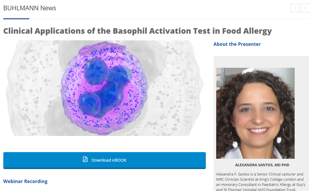 The Clinical Applications of Basophil Activation in Food Allergy