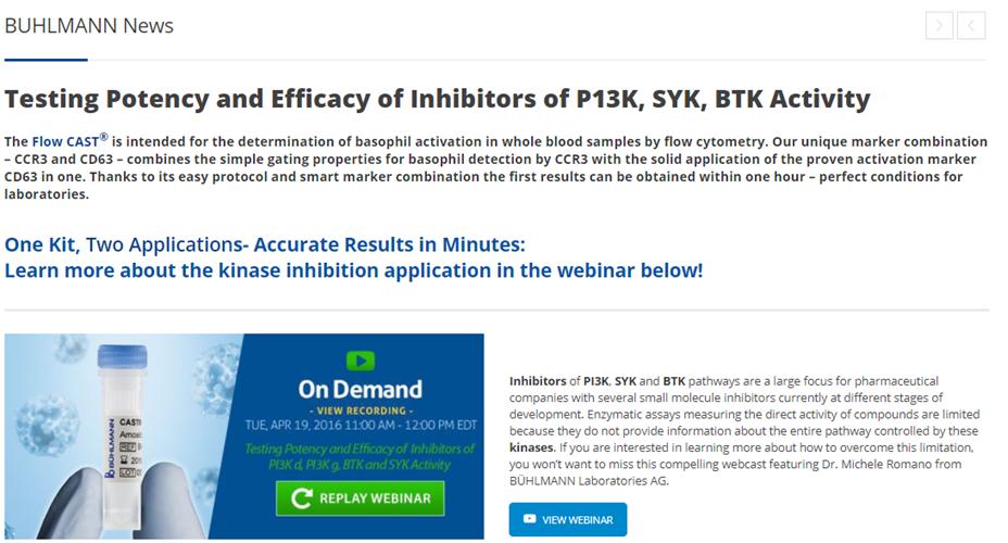 Testing Potency and Efficacy of Inhibitors of P13K, SYK, BTK Activity