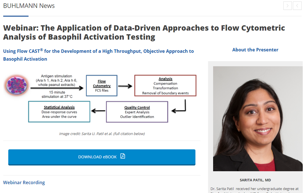 The Application of Data-Driven Approaches to Flow Cytometric Analysis of Basophil Activation Testing